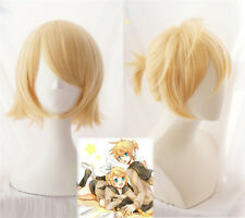 Vocaloid Hatsune Miku Snow Miku Kagamine Twins Rin/Len Short Cosplay Hair Wig