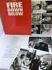 Fire Down Below Steven Seagal Complete Movie Press Kit 1997 Kristofferson
