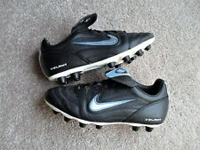 Nike VOLANT FG-E Women's Soccer Cleats Black/Blue/White US SZ 5.5 EUR 36