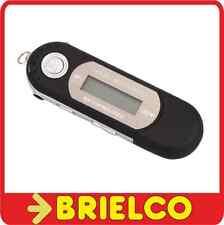 REPRODUCTOR MULTIMEDIA MP3 WAV GRABACION VOZ RADIO FM AURICULARES NEGRO BD9316