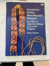 American Indian Needlepoint Designs For Pillows, Belts, Handbags, And Other Proj