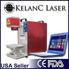 Portable 60W MOPA M1 Black, Color Fiber Marking Engraving Laser FDA NEW 2YR Warr