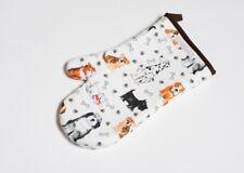 Roy Kirkham Dogs Single Oven Glove Mitt Cotton Padded Insulated Kitchen Textile