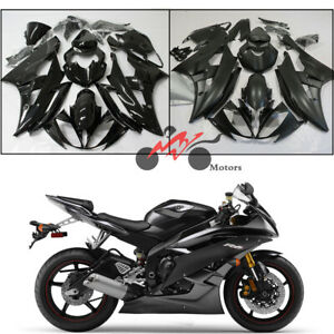 ZXMOTO Unpainted ABS Plastic Front Upper Cowl Middle Nose Fairing Bodywork for YAMAHA YZF R6 R600 2008-2016 2009 2010 2111 2012 2013 2014 2015