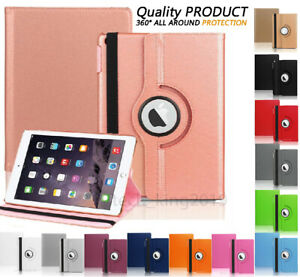 """For Apple iPad 9th Generation 10.2"""" (2021) 360° Rotating PU Leather Case Cover"""
