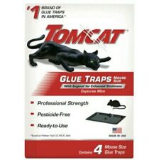 New listing Tomcat Glue Mouse Trap 1(4-Pack) Pesticide Free Cockroaches Spiders Rodents