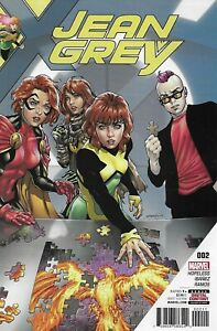 Jean Grey Comic 2 Cover A First Print 2017 Dennis Hopeless Ibanez Ramos Marvel .