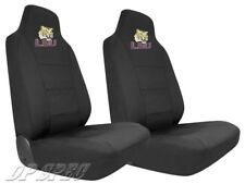 2X LSU LOUISIANA STATE FIGHTING TIGERS NCAA NEOPRENE SEAT COVER FOR FORD TRUCK