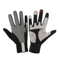 Cateye Long-Finger Reflective Cycling Gloves (S, M, L, XL)