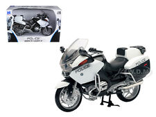 BMW R1200 RT-P U.S. POLICE WHITE 1/12 DIECAST MOTORCYCLE MODEL BY NEW RAY 43153