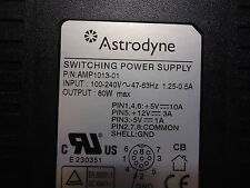 MPU100-301 Astrodyne Desktop Switching Power Supply Brand New!