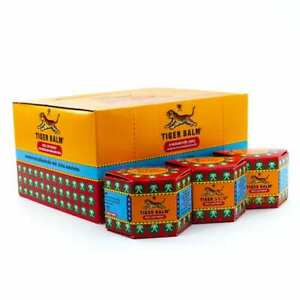 Tiger Balm 30g Red Ointment for muscular aches and pains pack of 12