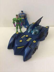 Dc Brave Bold Batman Batmobile Blue and Figures