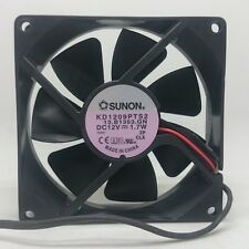 Sunon KD1209PTS2 SUNON 9025 12V 1.7W 9CM silent chassis cooling fan