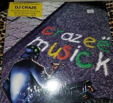 "DMC WORLD CHAMP MIXX-IT DJ CRAZE ""CRAZEE MUZICK"" BATTLE WAX 2 x 12"" VINYL RARE"