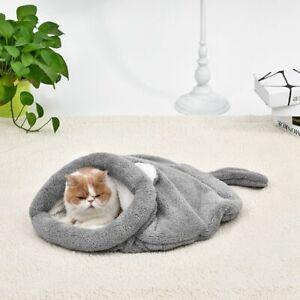 Cat Sleeping Bag Self-Warming Kitty Sack Kittern Bed-Puppy Small Dog Bed Upgrade