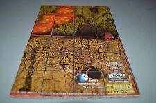 Dc Heroclix Teen Titans N.O.W.H.E.R.E The Crucible & Tower: Great Hall Maps