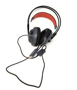 SteelSeries Red Illuminated Headset