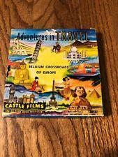 Adventures In Travel Belguim Crossroads of Europe castle Films 264 8 mm