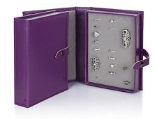 Reduced Little Book Of Rings Puple Large 1 Page Jewellery Holder Storage Box