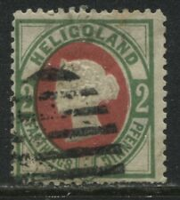 Heligoland QV 1875 2 pfennigs used is this genuinely used?