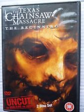 Texas Chainsaw Massacre - The Beginning (DVD, 2007, 2-Disc Set, Uncut Version)