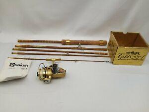 Abercrombie & Fitch 5 piece Rod and Daiwa Mini-Mite Reel!