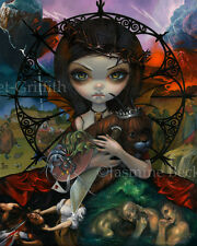 Jasmine Becket-Griffith art print dark fairy angel SIGNED Unseelie Court: Wrath