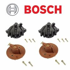 Kit of 2 Distributor Cap & 2 Rotor Bosch Brand For Lexus LS400 04268/03350