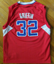 Blake Griffin #32 Los Angeles Clippers Adidas Medium Youth Red NBA Jersey