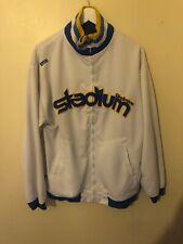 Akademics Stadium Division Spellout Zip Track Jacket L Akdmks Rare