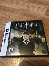 Harry Potter and the Order of the Phoenix (Nintendo DS, 2007) Works VC2