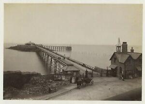 Weston-Super-Mare Pier 1888 Photo By Frith