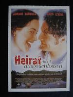 Filmplakatkarte  cinema  Heirat nicht ausgeschlossen  Janeane Carefalo