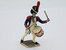 schöne Regiment Figur / Miniatur aus massiv Silber 800 punziert emailliert #9