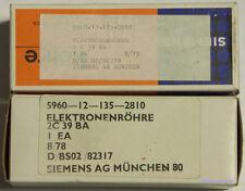 Siemens Röhre 2C39BA NOS mit Rechnung vom Händler