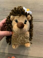 Abc Bakers Gs Girl Scouts Plush HedgeHog Brown Stuffed Animal Toy Daisy Flower