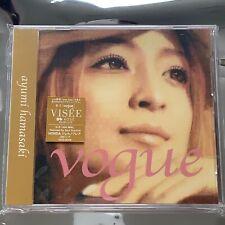 AYUMI HAMASAKI (浜崎あゆみ) - vogue [AVCD-30108] Japan Import MAXI Single