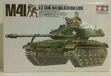 Tamiya1/35 scale kit U.S. M41 Walker Bulldog.