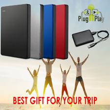 250GB External Portable USB 2.0 Hard Disk Drive HDD PC  Warranty NEXT DAY