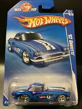 New Hot Wheels 2010 Collectors Edition '62 CORVETTE K-Mart Mail In Promo
