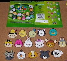 Disney Pins Tsum Tsum Mystery Pins Series 2  Complete Set Marie Chip Dale