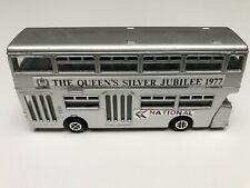 DINKY TOYS #297 ATLANTEAN BUS THE QUEEN'S SILVER JUBILEE 1977 MADE IN ENGLAND