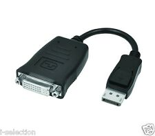 Active DisplayPort Display Port DP to DVI Female 24 5 Pin Single-link Adapter