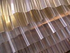 Polyester Lichtplatten Profil 76//18 Rollenware Euro 8,70//m² transparent