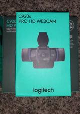 Logitech C920s Pro HD Webcam (In Hand 🤚🏻)