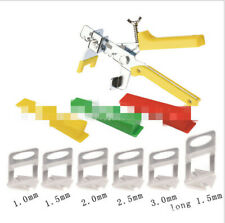 100 PCS Tile Spacer Leveling System Plastic Clips Tiling Floor Wall Tool 1.5mm