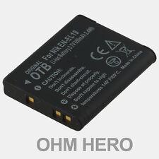 EN-EL19 Batteria Alta Qualità per Nikon Coolpix S100, S2500, S2550, S2600, (KB7)