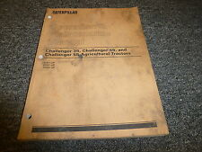 Caterpillar Cat Challenger 35 45 55 Agricultural Tractor Owner Operator Manual