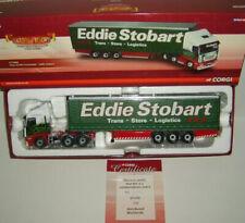 CORGI : EDDIE STOBART CC15002 : IVECO STRALIS CURTAINSIDER LTD ED : M.I.B : 1:50